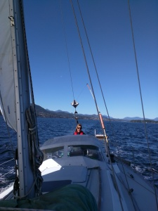 Debbie's First Turn at the Helm